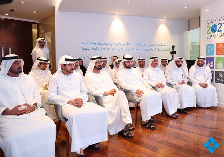 محمد بن راشد يطلق استراتيجية دبي الصناعيه