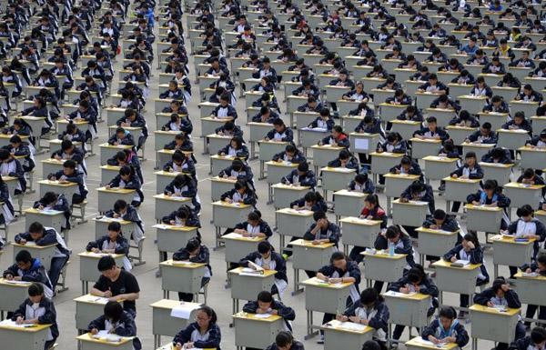 طائرات من دون طيار لمكافحة الغش في الامتحانات