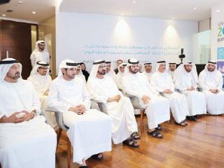 محمد بن راشد يطلق «استراتيجية دبي الصناعية»