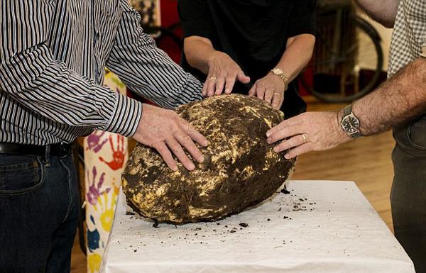 العثور على قطعة من الزبدة عمرها ألفا سنة..صالحة للأكل!