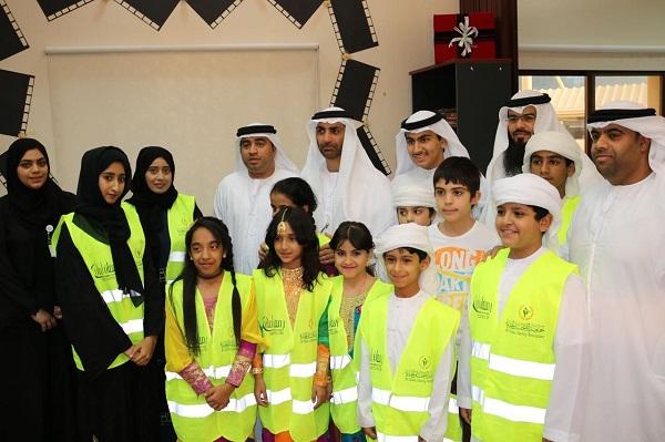 الشيخ الدكتور عبدالعزيز النعيمي بتفقد مقر التعبئة لحملة