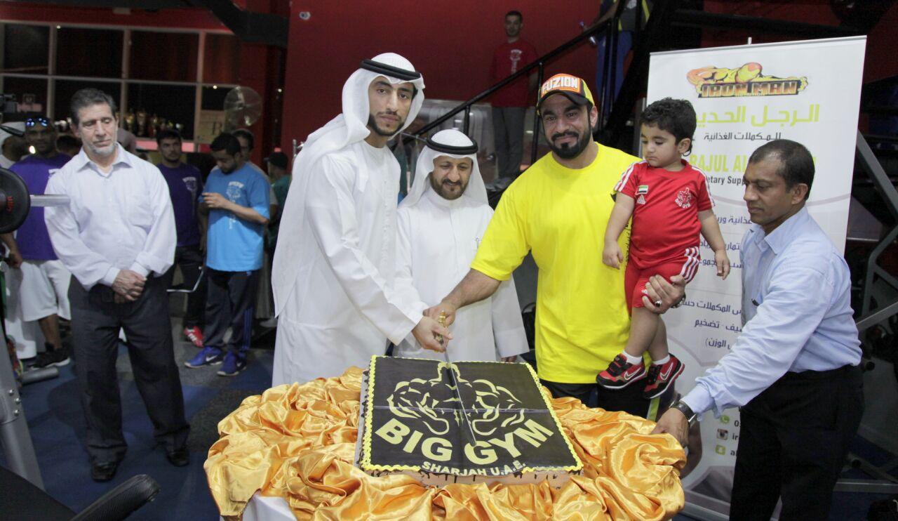 عبد الله الشرقي يرعى إفتتاح الصالة الكبرى لبناء الأجسام