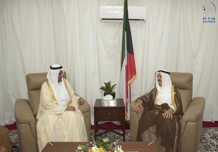 حاكم الفجيرة يلتقي أمير الكويت في نواكشوط