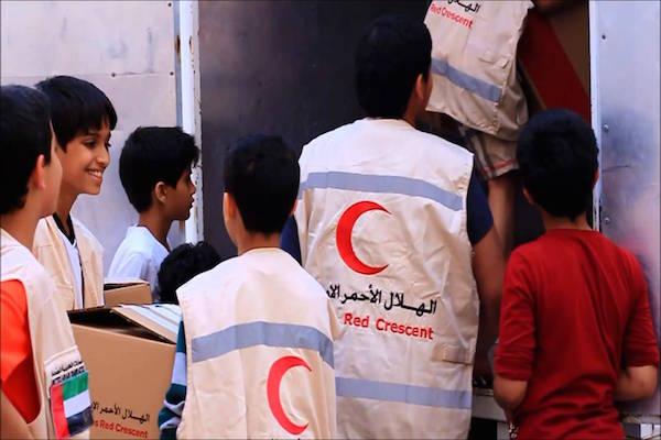 طائرتا إغاثة من الإمارات لدعم الشعب الليبي
