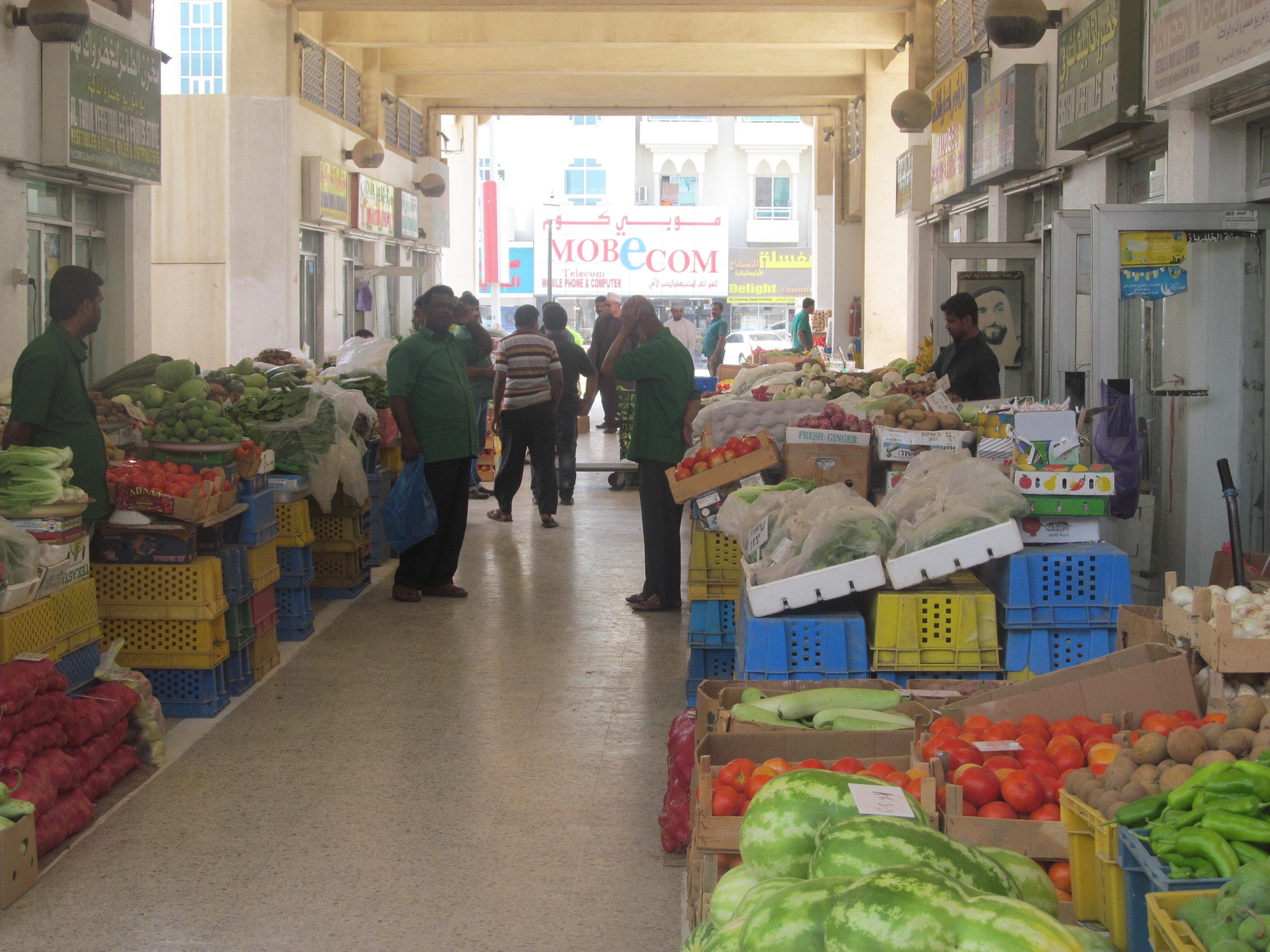 ارتفاع أسعار الفواكه  بنسبة 10 %  في الفجيرة قبل عيد الأضحى
