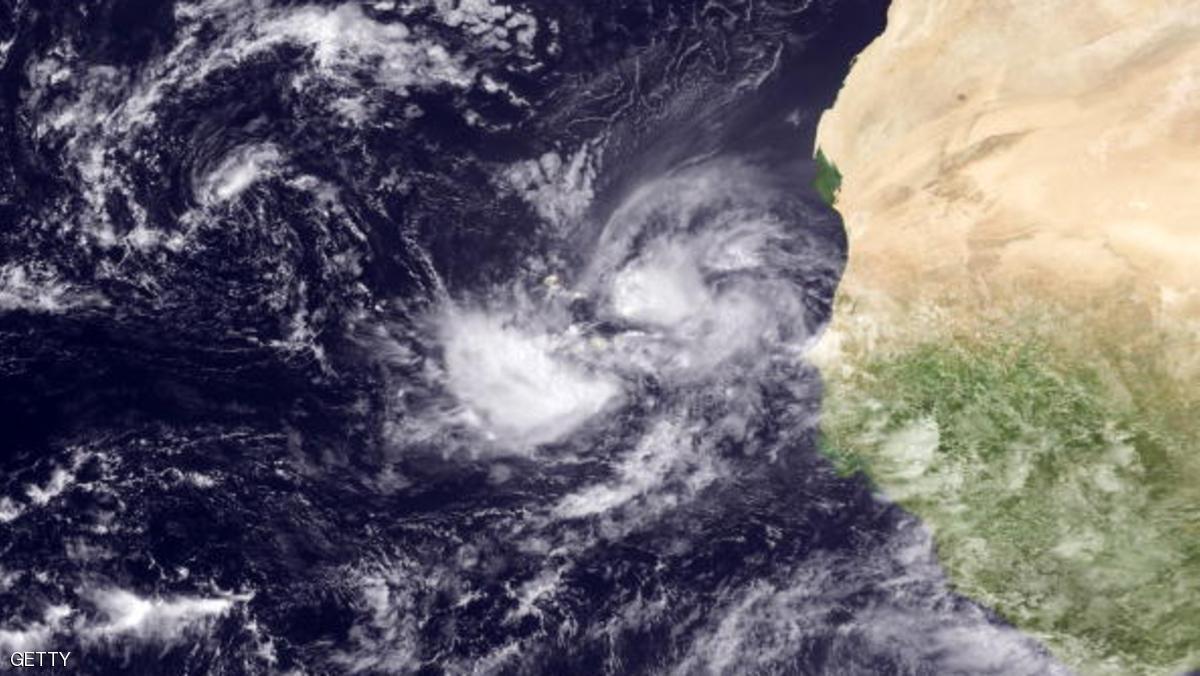 إعصار محتمل بالقرب من الرأس الأخضر