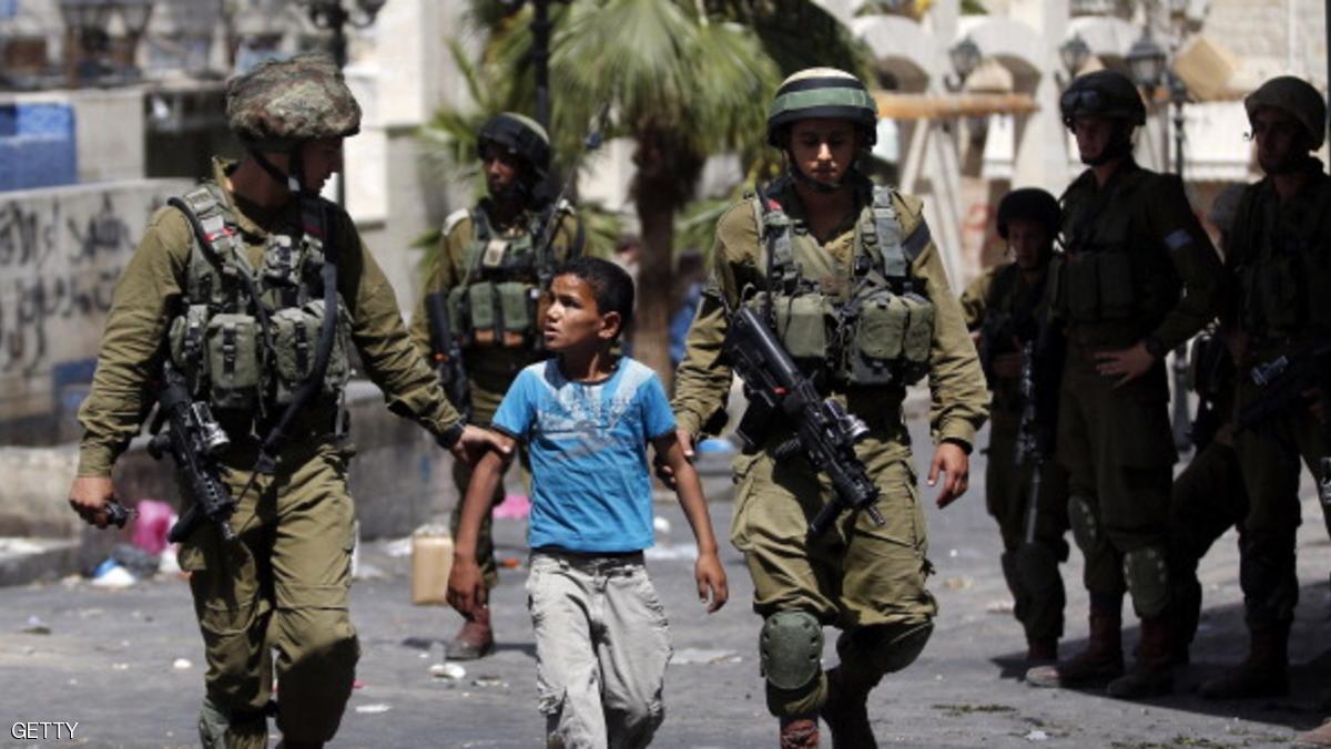 إسرائيل تسمح بسجن الأطفال الفلسطينيين من سن 12 عاما