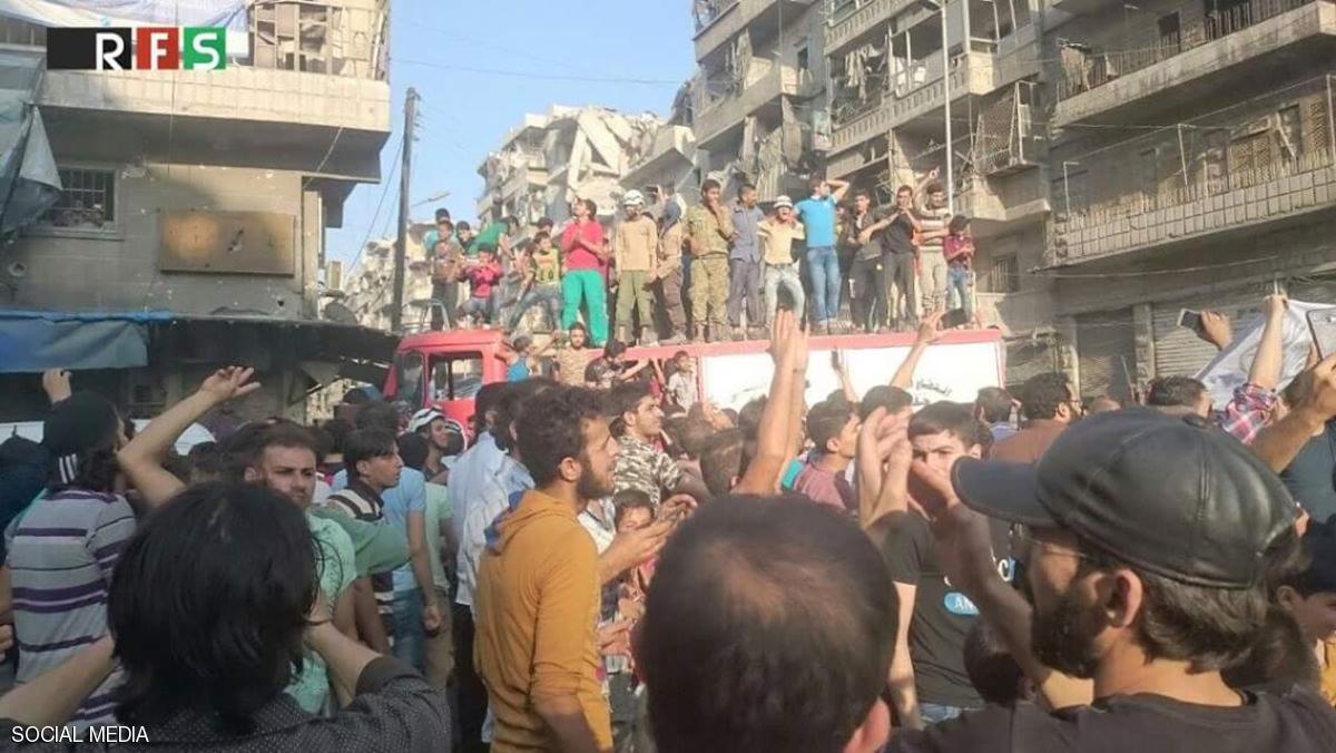 المعارضة تعلن كسر الحصار عن أحياء حلب الشرقية