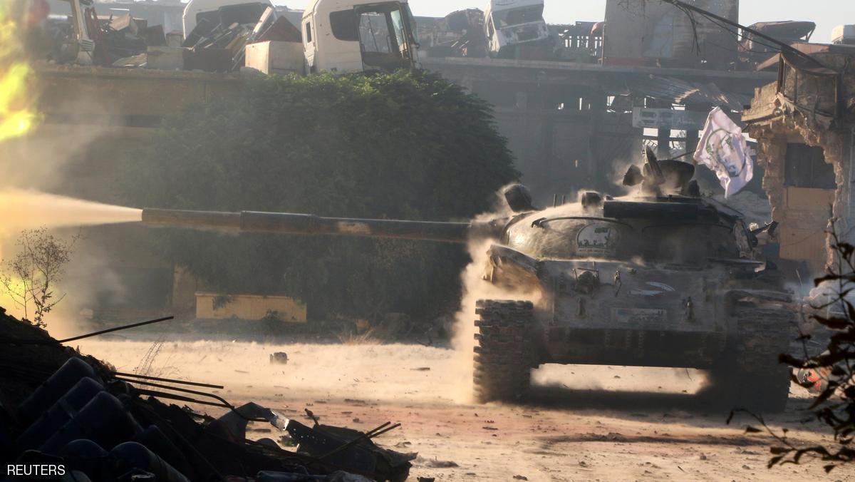 المعارضة السورية تستعيد بلدة استراتيجية من داعش بحلب