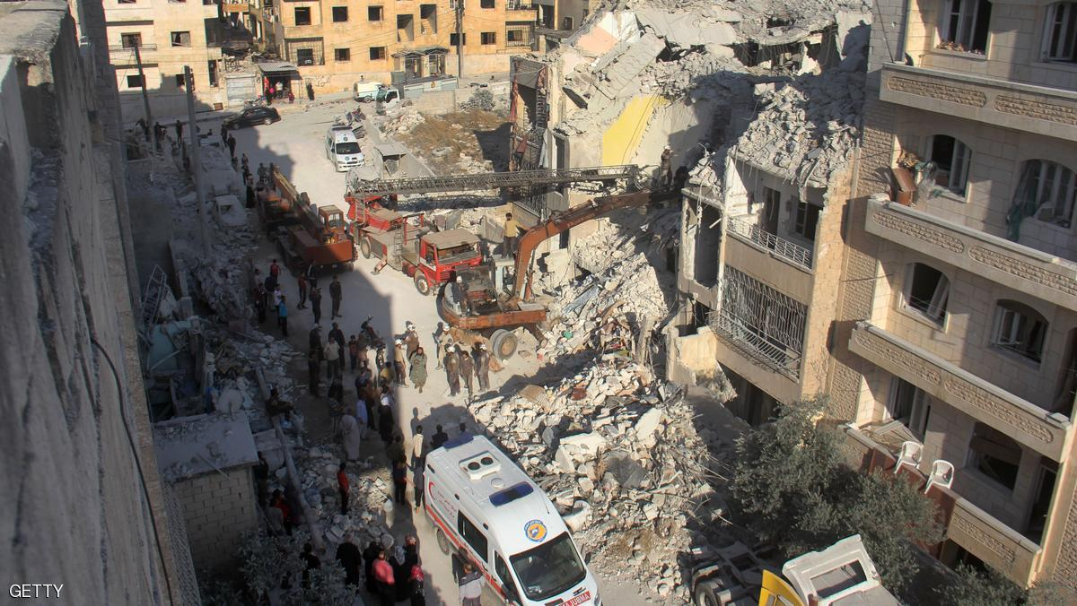 نزوح آلاف المدنيين من ريف حماة في سوريا