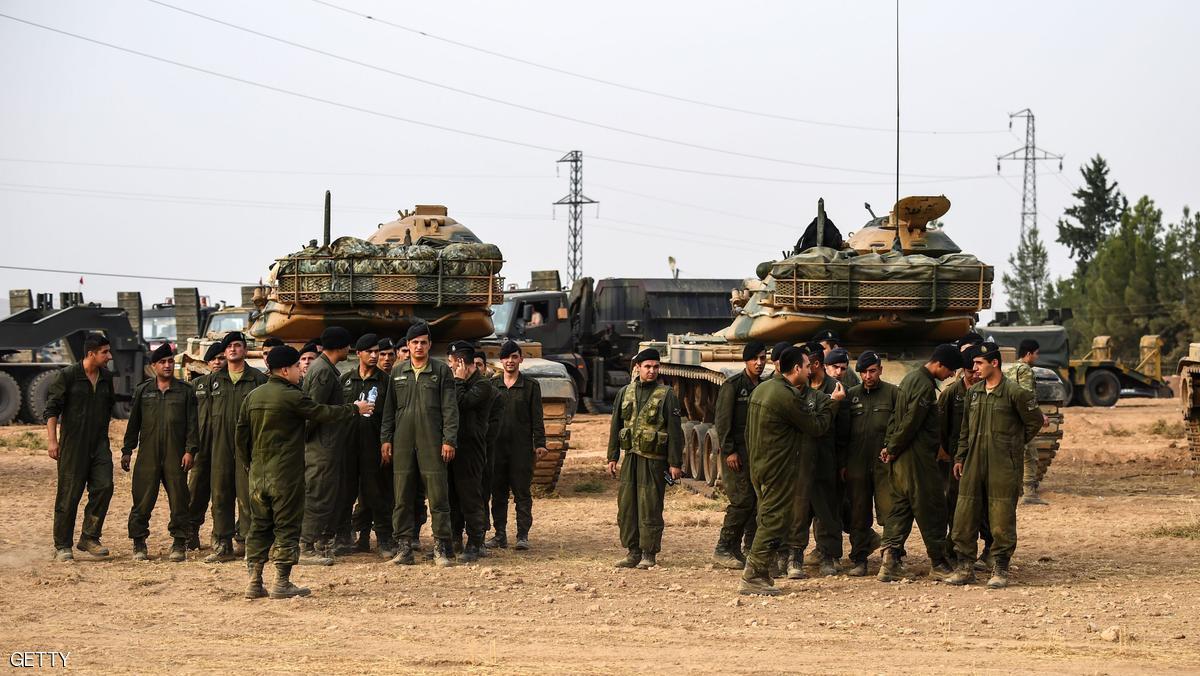 تركيا لا تقبل وقف إطلاق النار مع الأكراد بسوريا