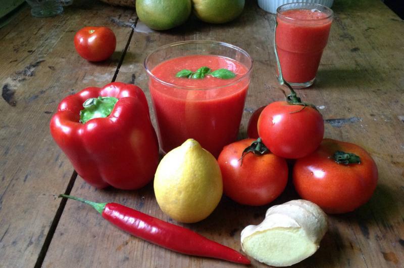 عصير سحري لإنقاص الوزن وطرد السموم