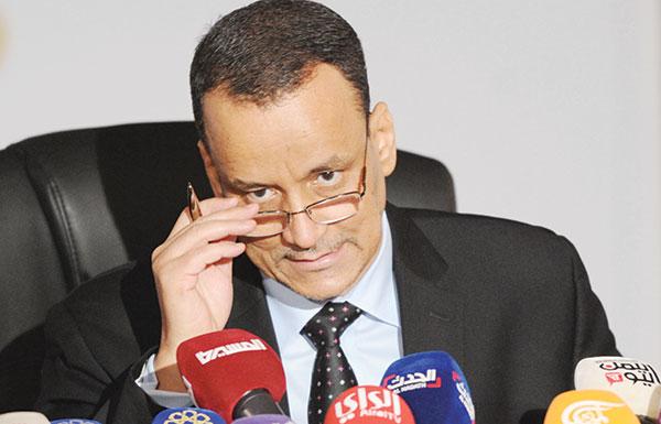 ولد الشيخ: استئناف المشاورات اليمنية بعد شهر