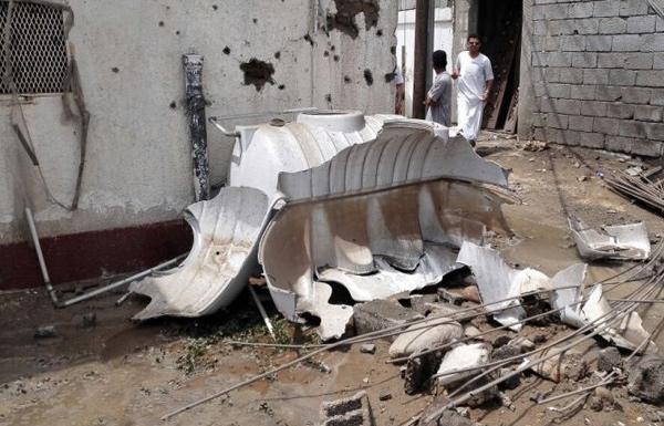 شهيد و7 جرحى بسقوط قذيفة أطلقت من اليمن على جازان