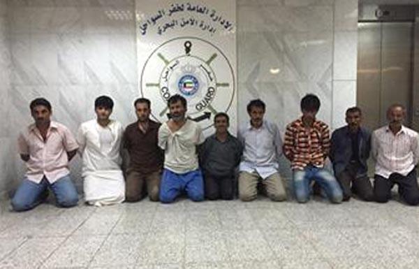 الكويت تعتقل 10 إيرانيين حاولوا التسلل إلى البلاد