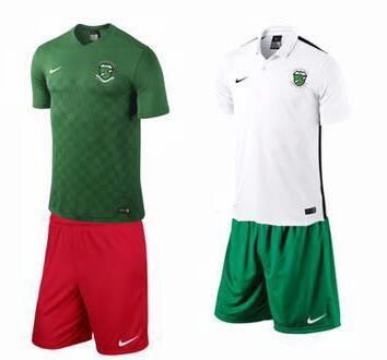 نادي العروبة يختار الأخضر والأبيض والأحمر لزيه الجديد