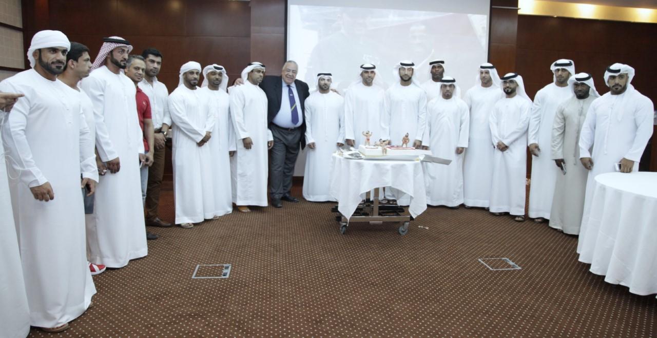عبد الله الشرقي يثني على الفائزين  في بطولة أرنولد لبناء الأجسام
