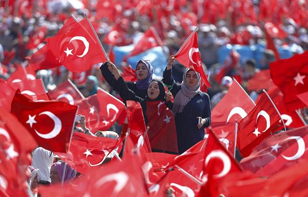 تركيا.. انطلاق مليونية
