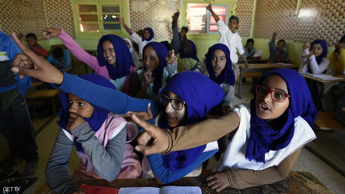 حملة تعاطف مع معلمة جزائرية بسبب