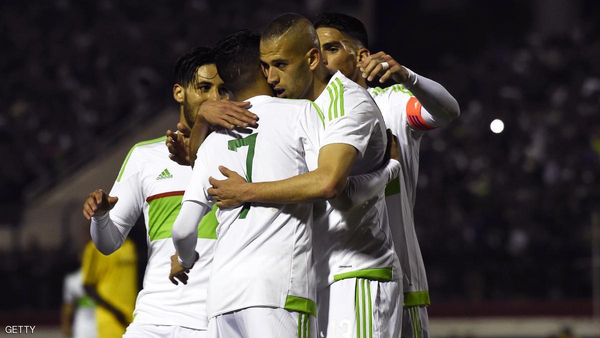 الجزائر تحتفظ بصدارة العرب في تصنيف الفيفا