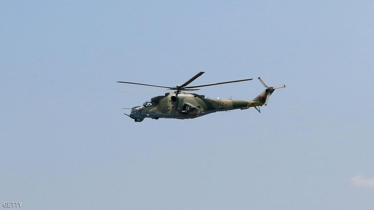 مقتل ضابط ليبي كبير ومرافقيه في تحطم مروحية