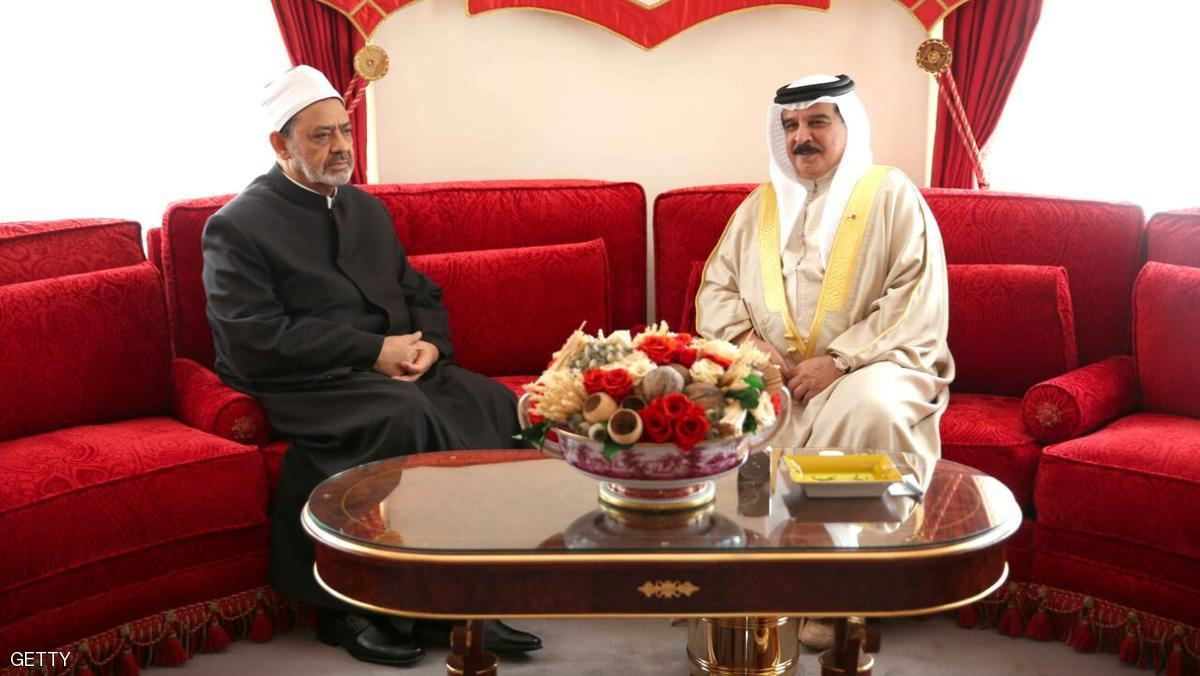ملك البحرين يشيد بجهود شيخ الأزهر في نشر الوسطية والسلام