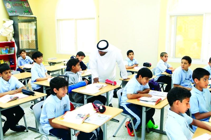 «التربية»: لا اختبارات نهائية في 9 مواد دراسية