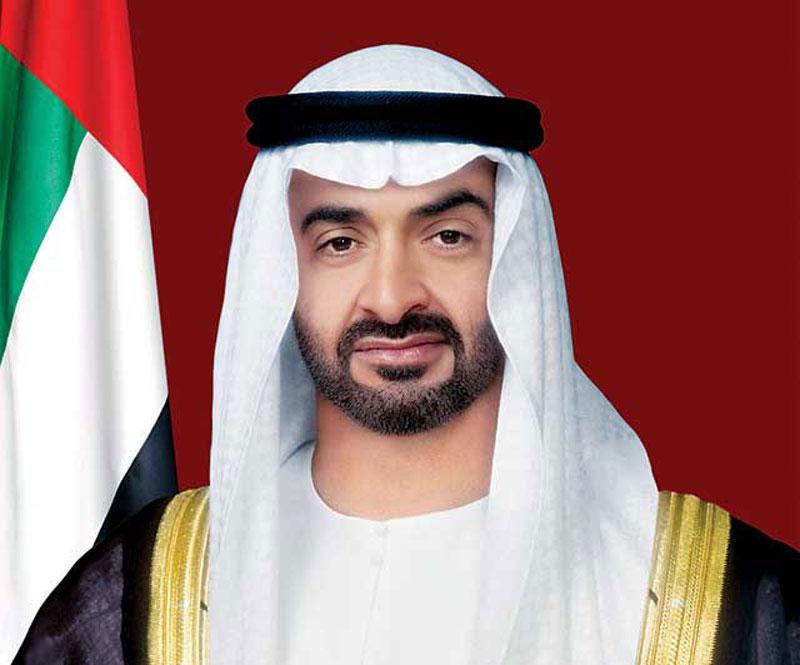 محمد بن زايد يتلقى اتصالاً هاتفياً من الرئيس الاميركي