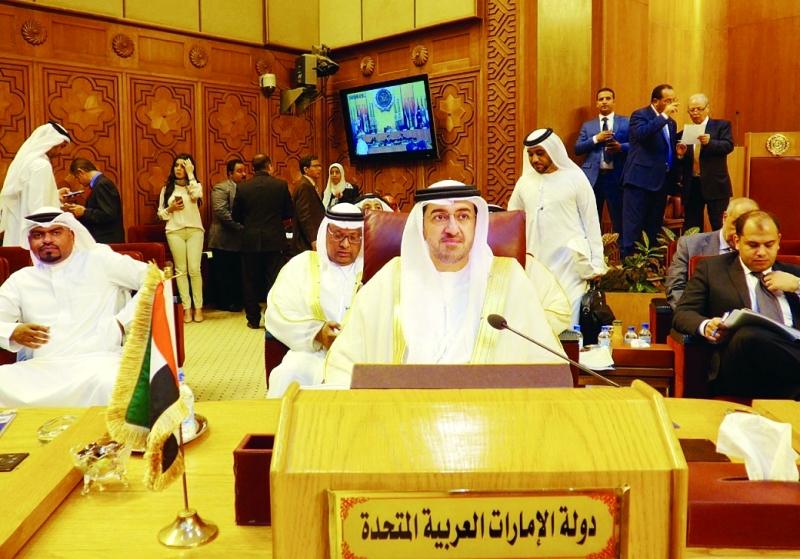 الإمارات تبحث القضايا التنموية العربية بالقاهرة