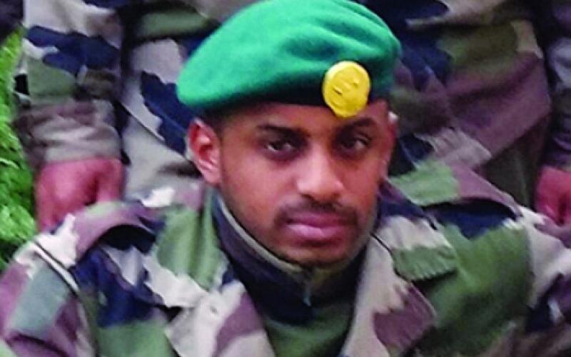 استشهاد أحد جنودنا البواسل متأثراً بجراحه إثر إصابة سابقة