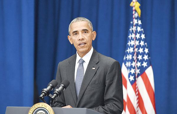 أوباما: لا علاقة بين تفجيري نيويورك ونيوجرسي وحادثة مينيسوتا