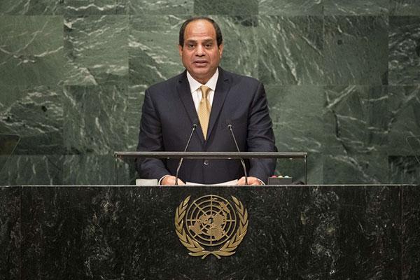 السيسي : أمن الخليج العربي مرتبط بأمن مصر