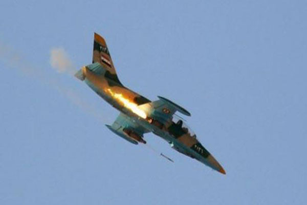 «داعش» يعلن إسقاط مقاتلة سورية في دير الزور