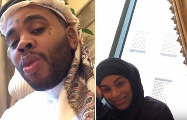 مغني راب وزوجته يعتنقان الإسلام ويؤديان الحج