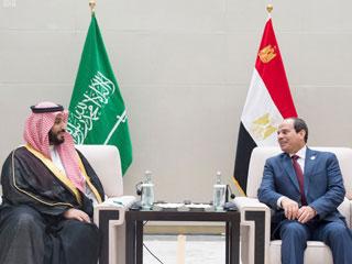 السيسي ومحمد بن سلمان يبحثان الأوضاع في المنطقة