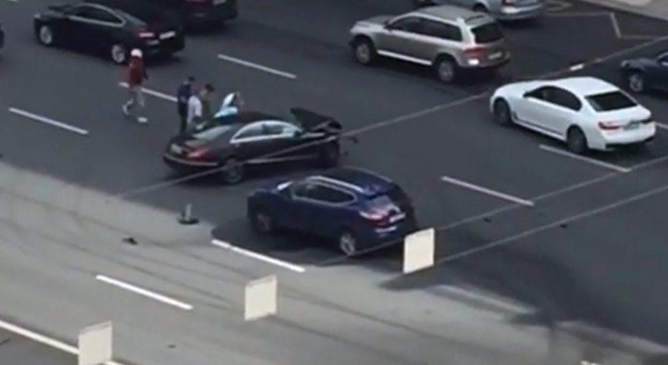 تحطم سيارة الرئيس الروسي بحادث مروّع