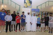 نادي تنس الفجيرة يشهد ختام الملتقى الخليجي