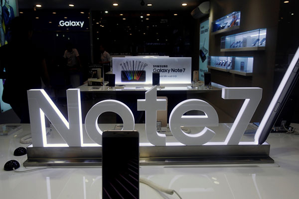 «سامسونج» توفر منصات استرداد قيمة «نوت 7» في مطارات الدولة