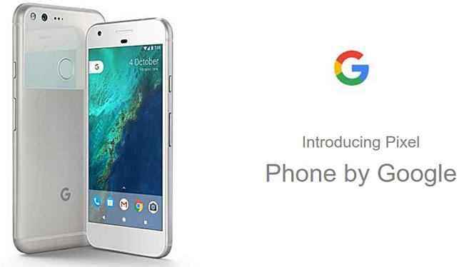 غوغل تكشف عن الهاتفين Google Pixel وPixel XL