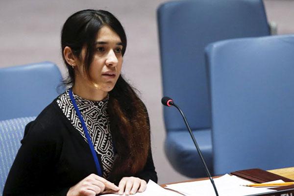 فوز أيزيديتين ناجيتين من داعش بجائزة أوروبية لحرية الفكر