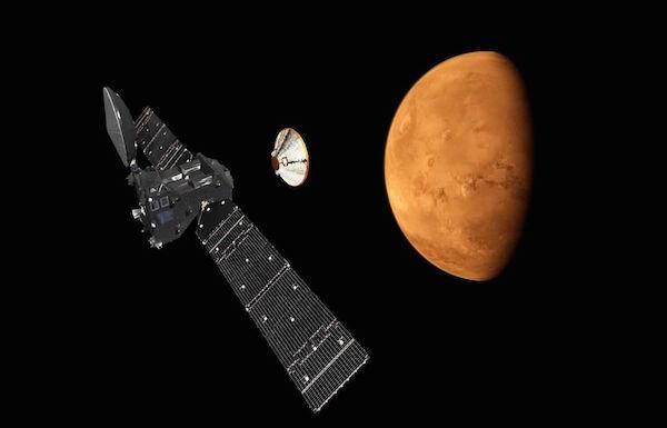 المسبار الأوروبي حي على كوكب المريخ