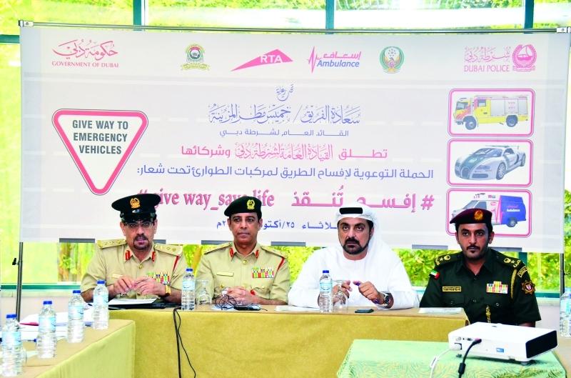 500 درهم و4 نقاط مرورية مخالفة عرقلة سير «الطوارئ» في دبي