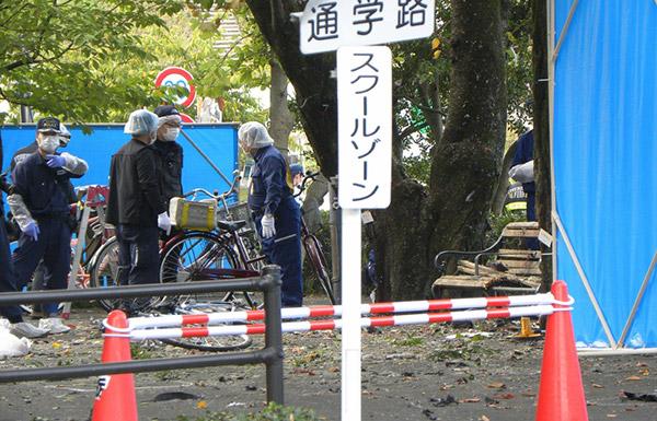 قتيل وجريحان في انفجارين بحديقة عامة يابانية