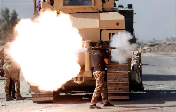 القوات العراقية تحرر 15 قرية حول الموصل