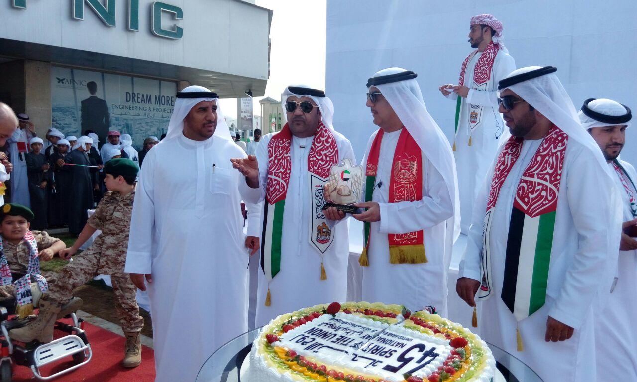 هيئة  الشباب والرياضة بالفجيرة والمنطقة الشرقية تحتفل بالعيد الوطني