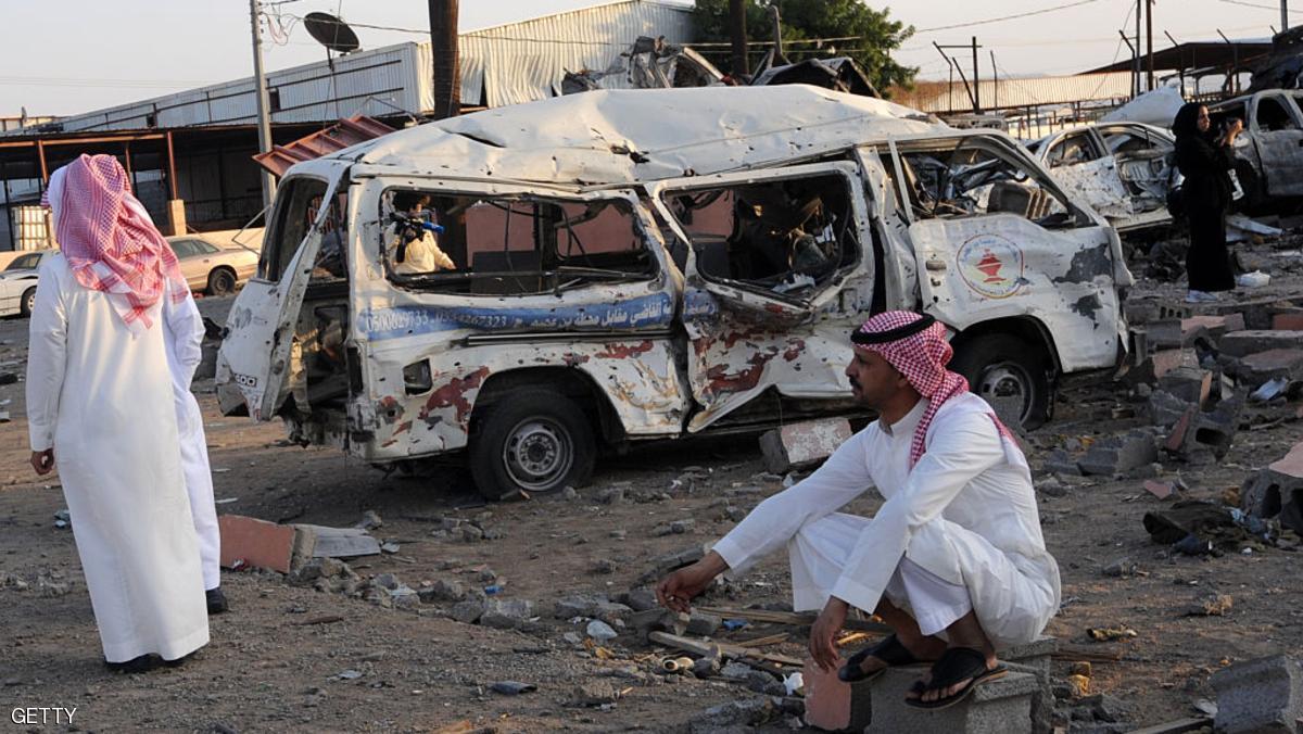جرحى في السعودية بسبب مقذوف من اليمن
