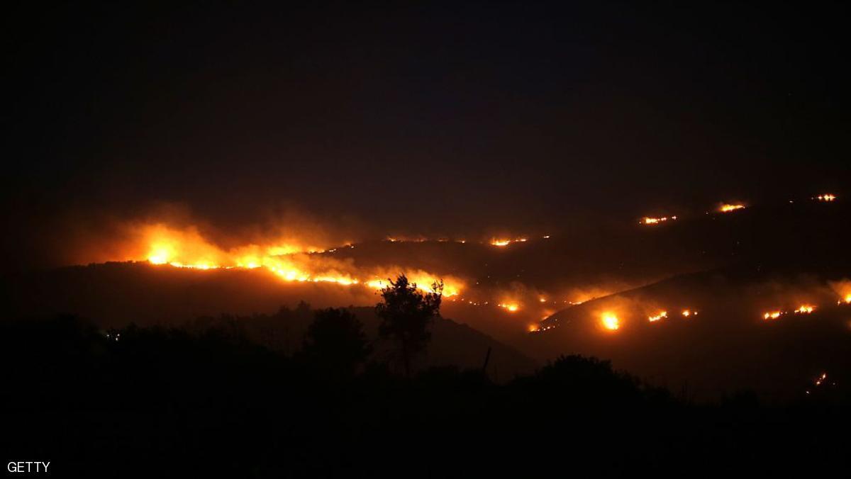حرائق إسرائيل.. حصيلة 5 أيام من النيران المستعرة