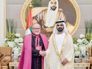 محمد بن راشد يتسلم أوراق اعتماد عدد من سفراء الدول الصديقة لدى الدولة