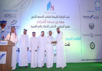 راشد الشرقي يكرم ضيوف المؤتمر العربي للتطوير والاستثمار العقاري