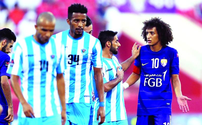 تغريم ياسين البخيت لاعب دبا الفجيرة  100 ألف درهم